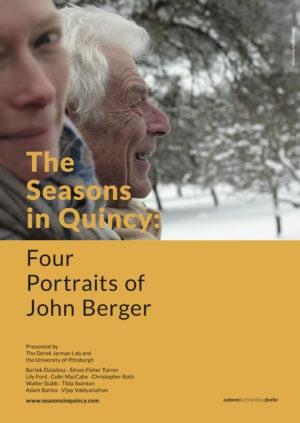 Времена года в Кенси: Четыре Портрета Джона Берджера